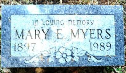 MYERS, MARY E. - Scott County, Iowa | MARY E. MYERS