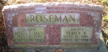 ROSEMAN, MYRTLE - Scott County, Iowa | MYRTLE ROSEMAN