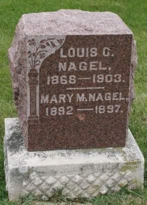 NAGEL, MARY M. - Scott County, Iowa | MARY M. NAGEL