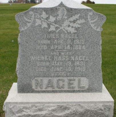 NAGEL, THIES - Scott County, Iowa | THIES NAGEL