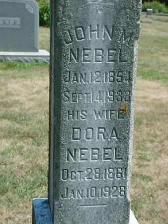 NEBEL, JOHN M - Scott County, Iowa | JOHN M NEBEL