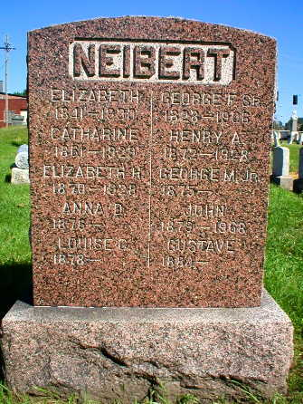 NEIBERT, LOUISE C. - Scott County, Iowa | LOUISE C. NEIBERT
