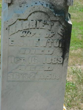 NEWTON, HARRIET E - Scott County, Iowa | HARRIET E NEWTON