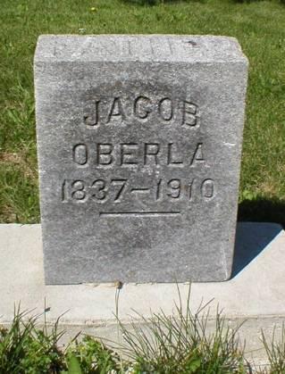 OBERLA, JACOB - Scott County, Iowa   JACOB OBERLA