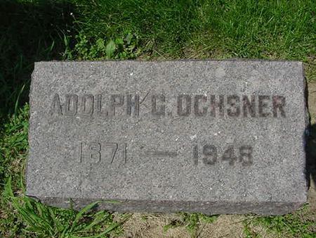 OCHSNER, ADOLPH C - Scott County, Iowa | ADOLPH C OCHSNER