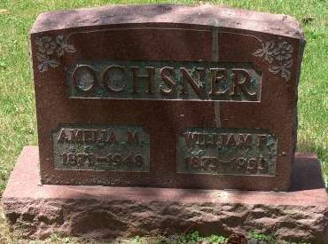 OCHSNER, WILLIAM FREDERICK - Scott County, Iowa | WILLIAM FREDERICK OCHSNER