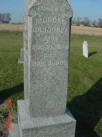 ORNDORFF, MORGAN - Scott County, Iowa   MORGAN ORNDORFF
