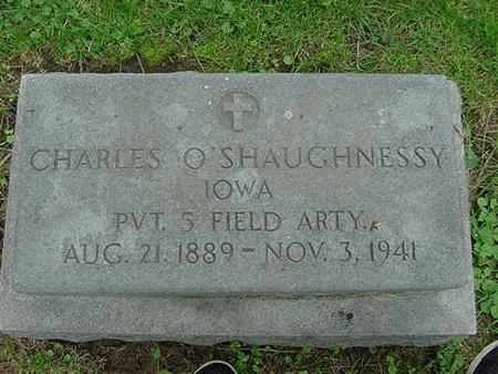 O'SHAUGHNESSY, CHARLES - Scott County, Iowa | CHARLES O'SHAUGHNESSY