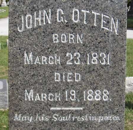 OTTEN, JOHN G. - Scott County, Iowa   JOHN G. OTTEN