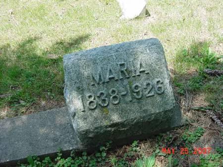 PAGEL, MARIA - Scott County, Iowa | MARIA PAGEL