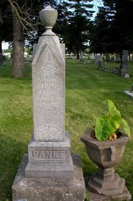 PANKE, FREDERIK - Scott County, Iowa | FREDERIK PANKE