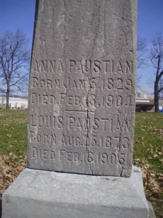 PAUSTIAN, ANNA - Scott County, Iowa | ANNA PAUSTIAN