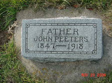 PEETERS, JOHN - Scott County, Iowa | JOHN PEETERS