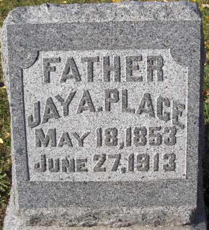 PLACE, JAY A. - Scott County, Iowa   JAY A. PLACE