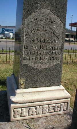 PLAMBECK, CLAUS HINRICH - Scott County, Iowa | CLAUS HINRICH PLAMBECK