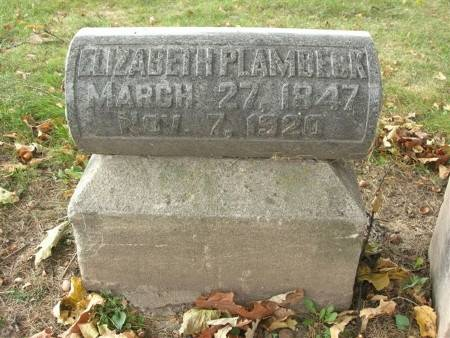 PLAMBECK, ELIZABETH - Scott County, Iowa | ELIZABETH PLAMBECK