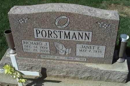 PORSTMANN, RICHARD J. - Scott County, Iowa   RICHARD J. PORSTMANN