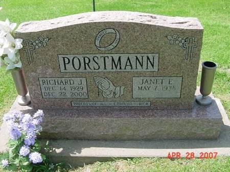 PORSTMANN, RICHARD J - Scott County, Iowa   RICHARD J PORSTMANN