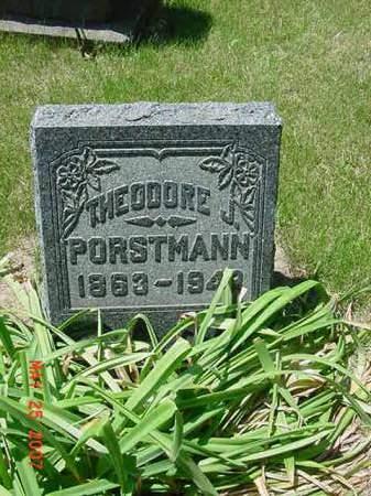 PORSTMANN, THEODORE J - Scott County, Iowa | THEODORE J PORSTMANN