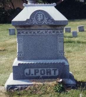 PORT, FAMILY MONUMENT - Scott County, Iowa | FAMILY MONUMENT PORT