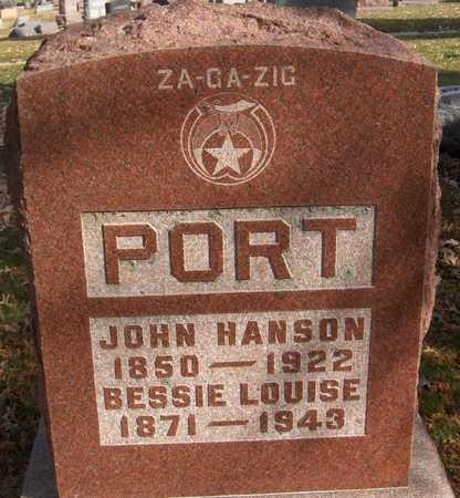 PORT, JOHN - Scott County, Iowa | JOHN PORT