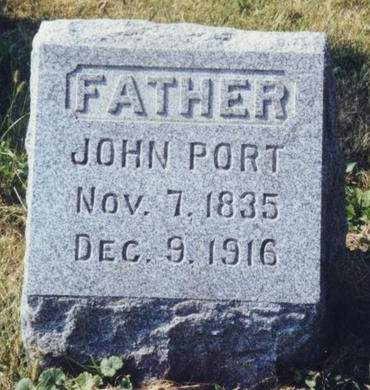 PORT, JOHN - Scott County, Iowa | JOHN PORT