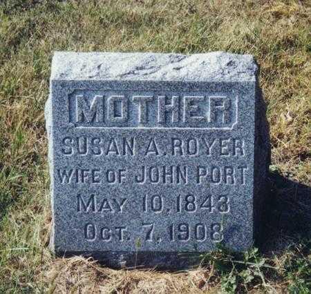 PORT, SUSAN A - Scott County, Iowa | SUSAN A PORT