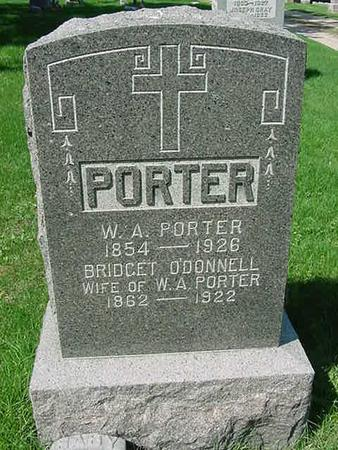 O'DONNELL PORTER, BRIDGET - Scott County, Iowa | BRIDGET O'DONNELL PORTER