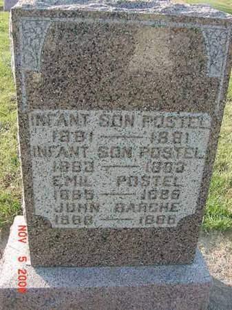POSTEL, INFANT SON - Scott County, Iowa | INFANT SON POSTEL