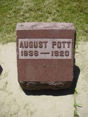 POTT, AUGUST - Scott County, Iowa | AUGUST POTT