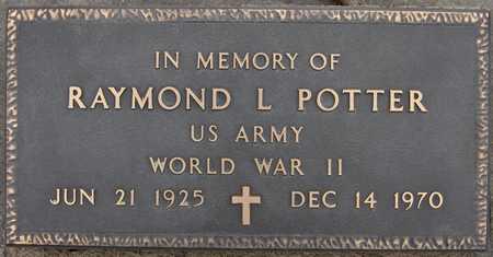 POTTER, RAYMOND L. - Scott County, Iowa | RAYMOND L. POTTER