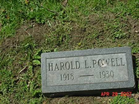 POWELL, HAROLD L - Scott County, Iowa | HAROLD L POWELL