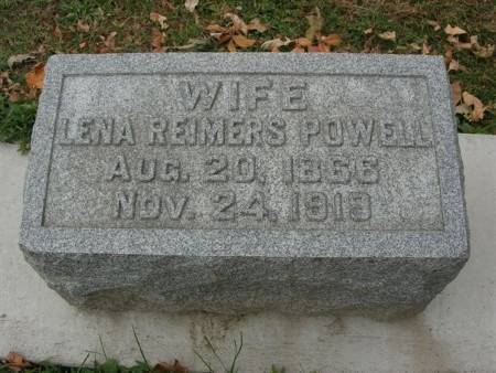 REIMERS POWELL, LENA - Scott County, Iowa | LENA REIMERS POWELL