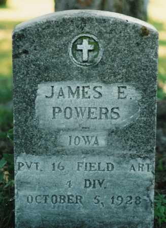 POWERS, JAMES - Scott County, Iowa | JAMES POWERS