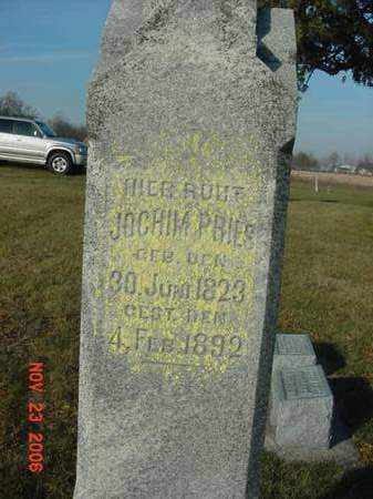 PRIES, JOCHIM - Scott County, Iowa | JOCHIM PRIES
