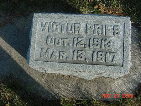 PRIES, VICTOR - Scott County, Iowa | VICTOR PRIES