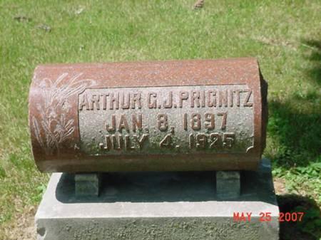 PRIGNITZ, ARTHUR G J - Scott County, Iowa | ARTHUR G J PRIGNITZ