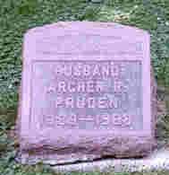PRUDEN, ARCHER R. - Scott County, Iowa   ARCHER R. PRUDEN