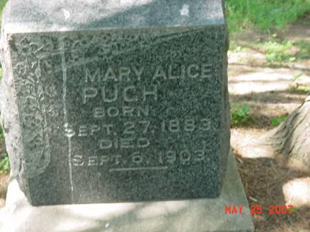 PUGH, MARY ALICE - Scott County, Iowa | MARY ALICE PUGH