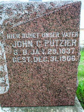 PUTZIER, JOHN C. - Scott County, Iowa | JOHN C. PUTZIER
