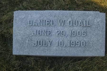 QUAIL, DANIEL W. - Scott County, Iowa | DANIEL W. QUAIL