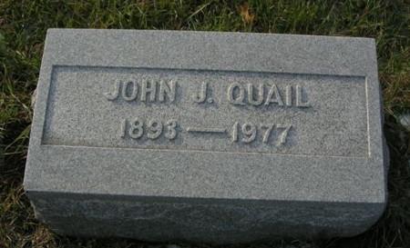 QUAIL, JOHN J. - Scott County, Iowa | JOHN J. QUAIL
