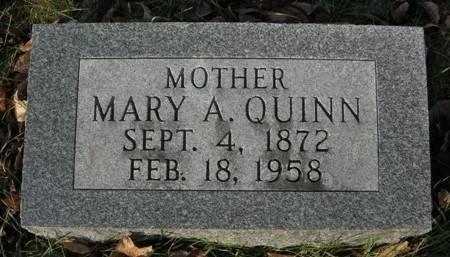 QUINN, MARY A. - Scott County, Iowa | MARY A. QUINN