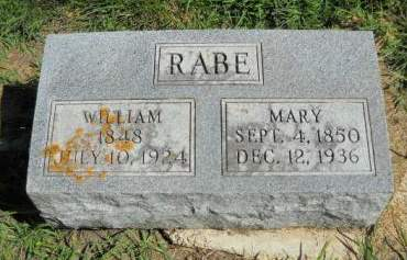 RABE, WILLIAM - Scott County, Iowa | WILLIAM RABE
