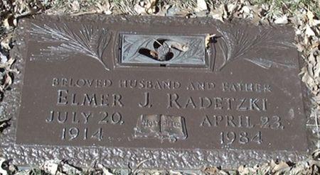 RADETZKI, ELMER J. - Scott County, Iowa | ELMER J. RADETZKI