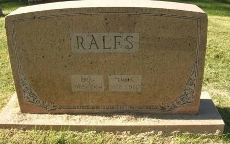RALFS, EMMA - Scott County, Iowa | EMMA RALFS
