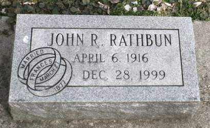 RATHBUN, JOHN R. - Scott County, Iowa | JOHN R. RATHBUN