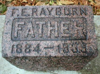 RAYBURN, F. E. - Scott County, Iowa | F. E. RAYBURN