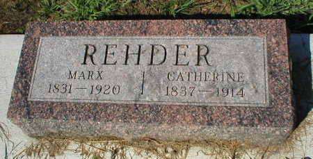 REHDER, CATHERINE - Scott County, Iowa | CATHERINE REHDER