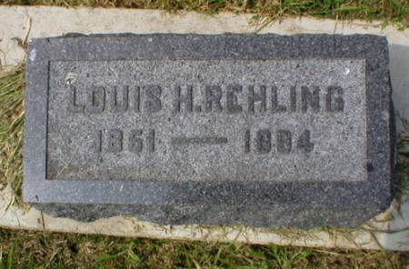 REHLING, LOUIS H. - Scott County, Iowa | LOUIS H. REHLING